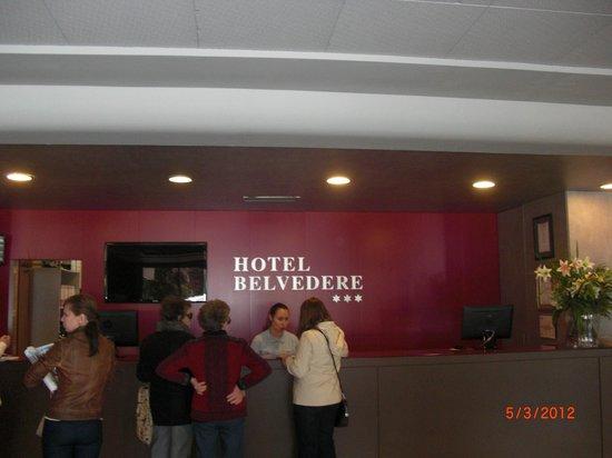 Ohtels Belvedere: ресепшн