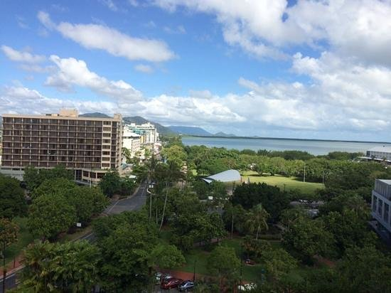 Hilton Cairns: View from our room