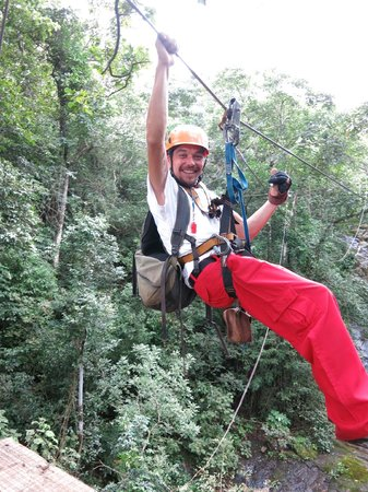 Adventure Park & Hotel Vista Golfo : Our tour guide Chris