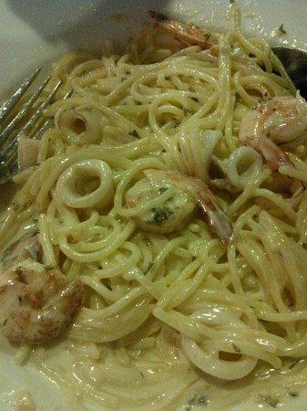 Red Sky Restaurant and Bar: Seafood Carbonara