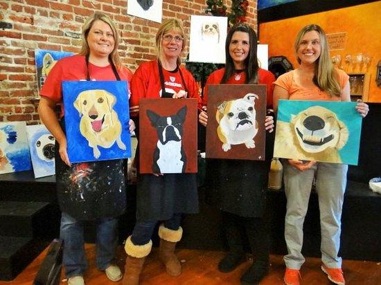 The Painted Cork : Paint Your Pet!