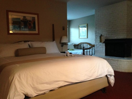Svendsgaard's Inn : Pet-friendly king room with fireplace