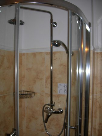 Hotel Ayvazovsky: A shower enclosure