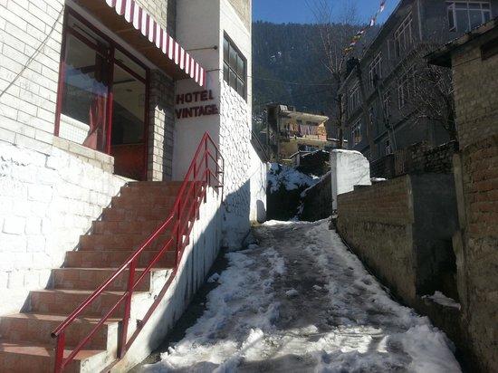 Hotel Vintage : Entrance