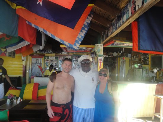 Speedy 4 Charters: At Sunshines w/ owner-Nevis
