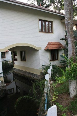 The World Backwaters: A view of the building from the grounds