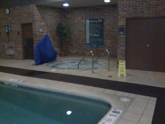 Holiday Inn Fond Du Lac: Hot tub