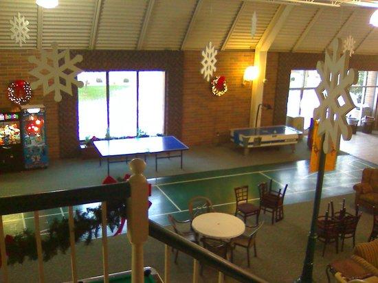 Holiday Inn Fond Du Lac: Rec area