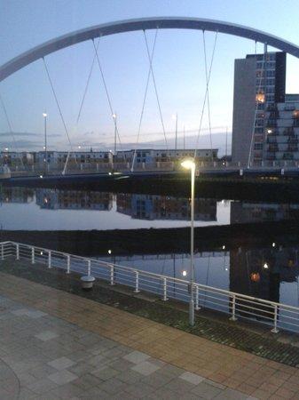 Hilton Garden Inn Glasgow City Centre: room 132 with a view