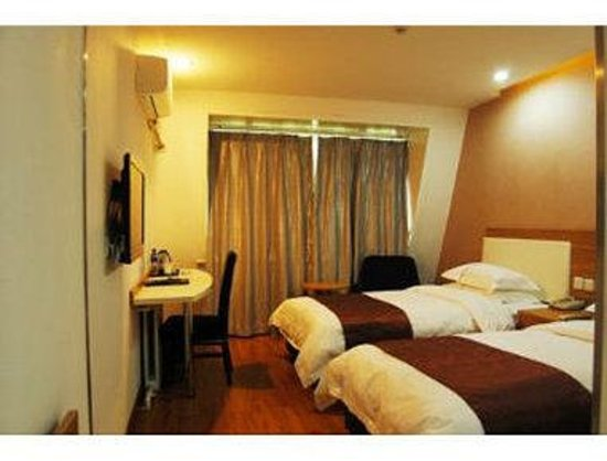 Super 8 Hotel Handan Xue Bu Qiao: Twin Bed Room