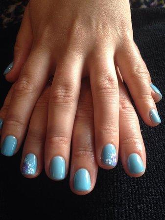 5 Star Massage: Shellac Polish + Nails Art