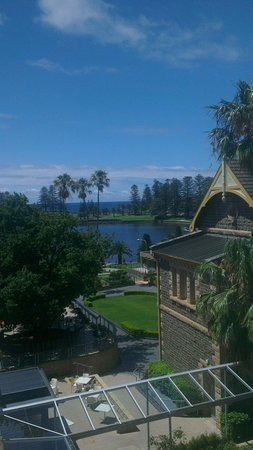 The Sebel Harbourside Kiama: View from deluxe harbour view level 2
