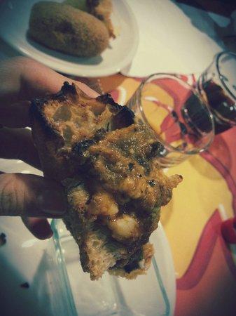 About Pizza Tonda : GNAM! Parmigiana light! Ottimo