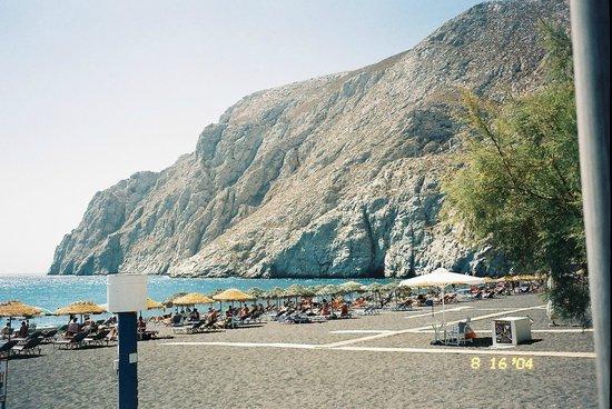 Aegean View Hotel : Kamari beach