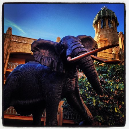 The Palace of the Lost City: Elephant Icon