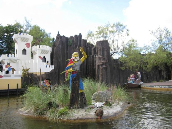 Legoland Billund: Робинзон Крузо
