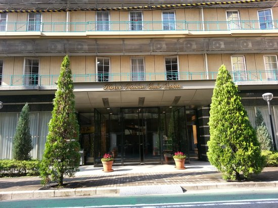 Hotel Hokke Club Osaka: Hotel entrance