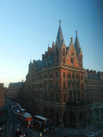 YHA London St Pancras: cosa vedevo dalla camera
