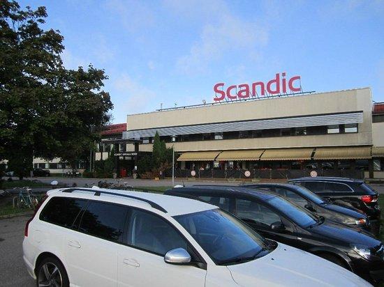 Scandic Uppsala North: Вид на отель