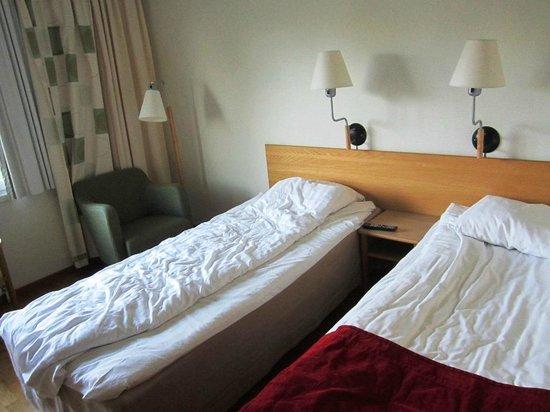 Scandic Uppsala North: Вид на кровати