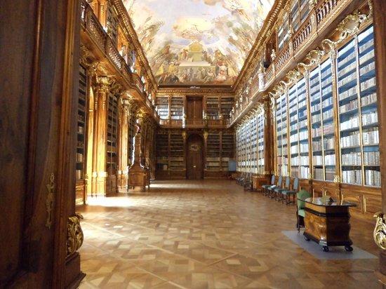 Hotel Ametyst Prague: bibliotheque  abbey de stravo