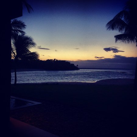 InterContinental Fiji Golf Resort & Spa: View from Navo Restaurant