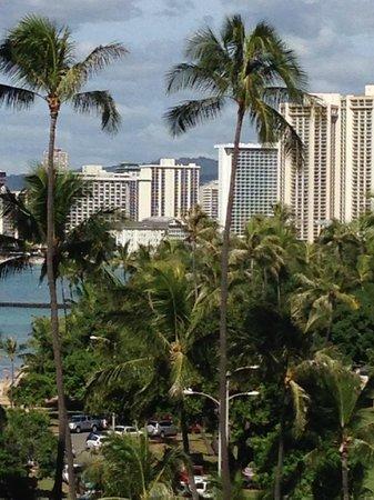 Lotus Honolulu at Diamond Head: View of Waikiki from balcony