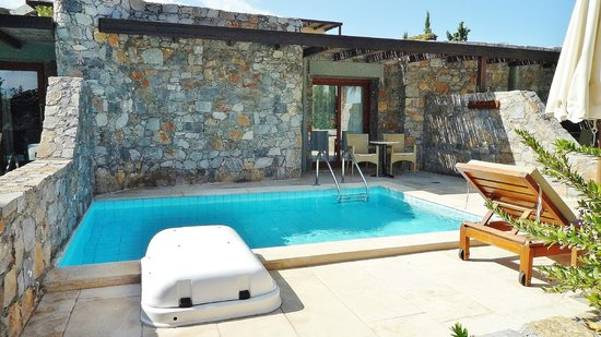 Ikaros Beach Resort & Spa: Privatpool