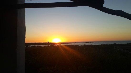 Baviana Beach Lodge: View from room