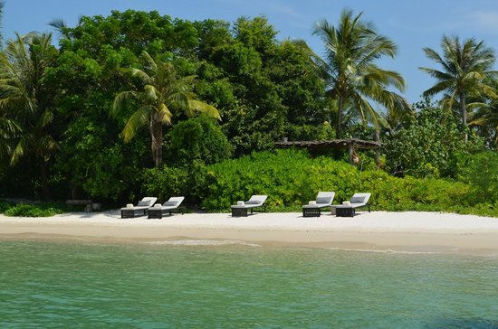 Song Saa Private Island: A beach on the island