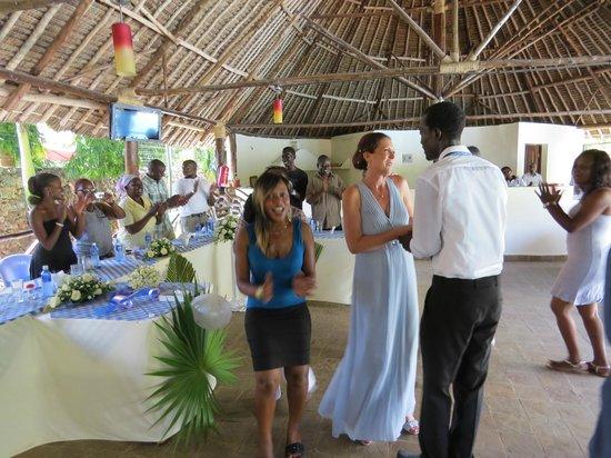 Jacyjoka Apartments : Blessing celebrations in restaurant