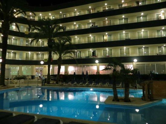 Hotel GHT Aquarium & SPA : Hotel view