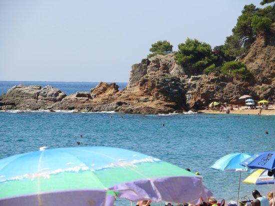 Hotel GHT Aquarium & SPA : Beach