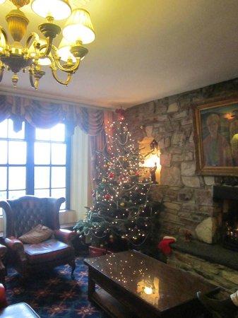 Abbeyglen Castle Hotel: recpetion area