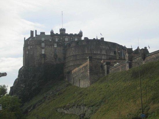 vista da Castle Rock Hostel