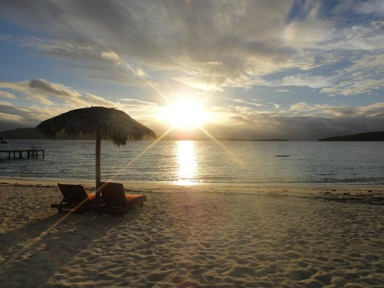 The Havannah, Vanuatu : Beach sunset