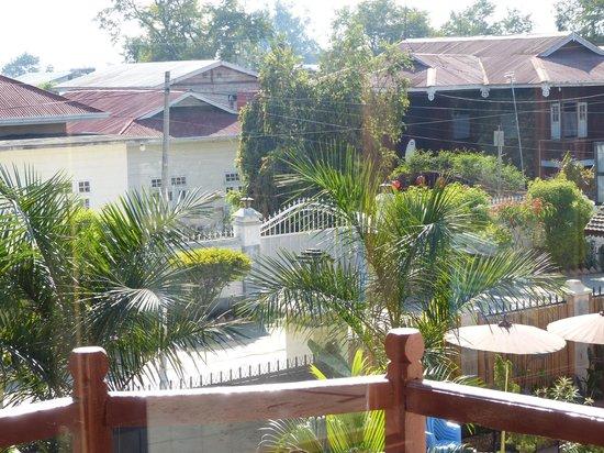Mingalar Inn : view from top floor suite room