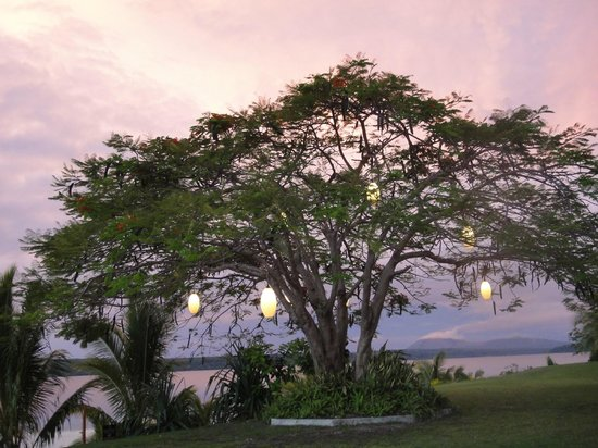 The Havannah, Vanuatu : Dining view