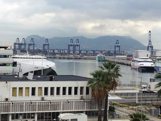 Marina Victoria Hotel Algeciras: View from room