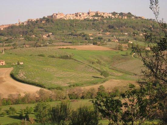 Agriturismo La Fraternita: Veduta mozzafiato su Montepulciano
