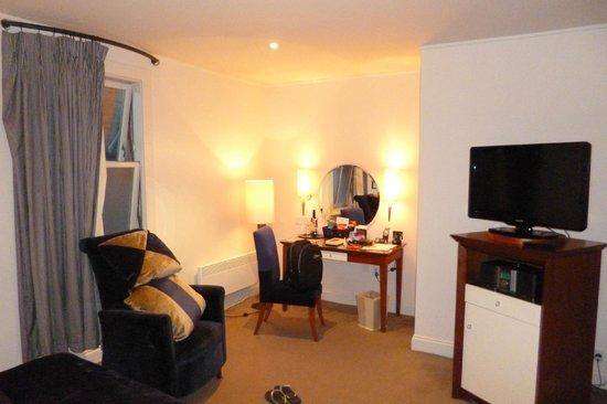 Malmaison Hotel Edinburgh: Habitación individual