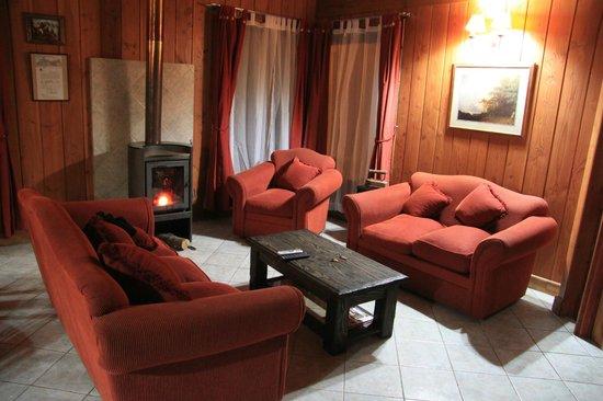 El salon - Picture of Hostal el Nogal Pucon, Pucon - TripAdvisor