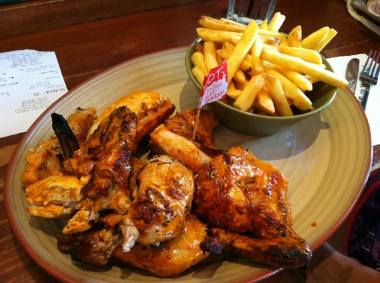 Nando's: Inside the restaurant