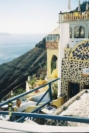 Fanari Restaurant  Fira Santorini