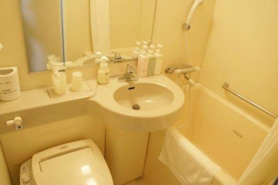 Hotel Hokke Club Shonan Fujisawa : 浴室洗面トイレ