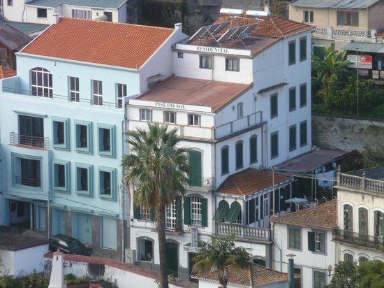 Hospedaria Por do Sol: Blick vom Fort auf die Hospedaria