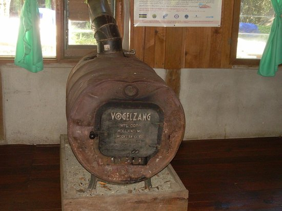Mountain Oasis Resort (ecological lodges): Heater in resto