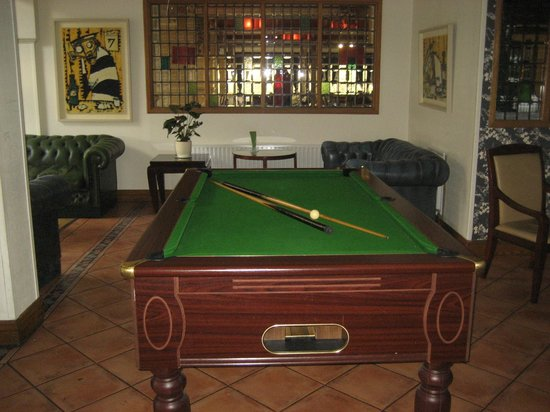 Pool Table Picture Of Jacksons Hotel Conference And Leisure - Pool table conference room table