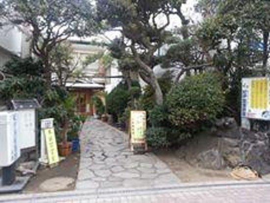 Kinokuniya Ryokan : 宿の玄関