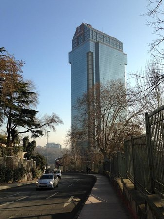 The Ritz-Carlton, Istanbul: Out side view